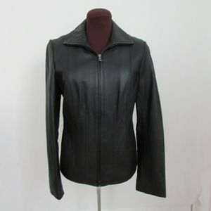 Kenneth Cole Reaction Moto leather jacket